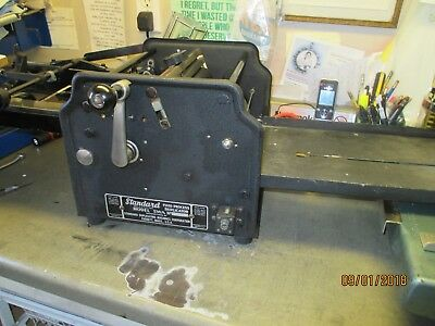 STANDARD FLUID DUPLICATOR - Works GREAT! Professionally  Serviced. Made in 30's