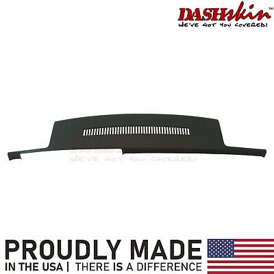 88-94 Chevy GMC C1500 K1500 Molded Dash Cover Overlay Skin w/Grille Black
