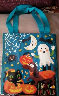 Trick or Treat Bag Halloween Dachshund Doxie Dog Cat Reusable Eco Shopping Tote