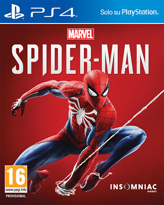 Marvel Spider Man Ps4 Italiano