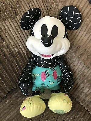 DISNEY MICKEY MEMORIES ~ SEPTEMBER 1990's MICKEY MOUSE PLUSH SOFT TOY ~ 9 OF 12