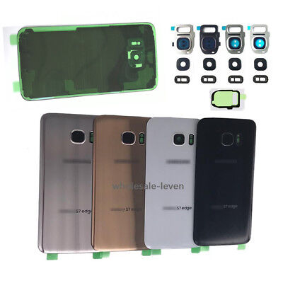 OEM For Samsung Galaxy S7 / S7 Edge Back Glass Cover IP68  / Camera Lens / Tape