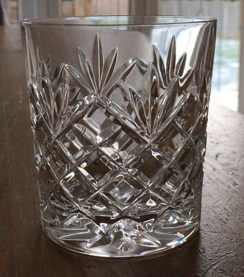 Galway Crystal Whisky Glasses X 4