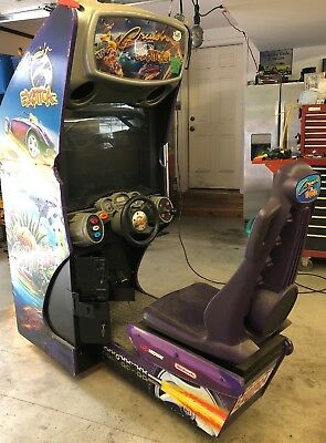 Crusin' Exotica  Sit Down Racing Arcade game  Nintendo Midway For Repair/Parts