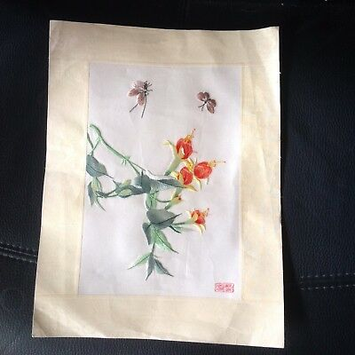 Chinese Silk Embroidery Picture
