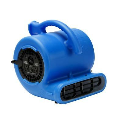 B-Air 1/4 HP Air Mover Carpet Dryer Floor Blower Fan Home and Plumbing Use blue