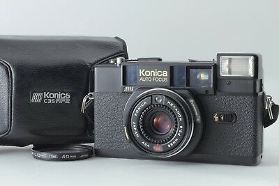 Konica C35 AF2 with Hexanon 38mm f2.8 Lens,case From JAPAN 【For Parts】#130