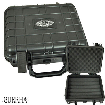 Gurkha 30-ct Travel Case Humidor