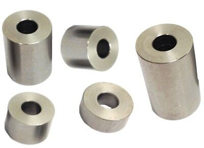 Stainless Steel Metric Spacer, M4 Screw, 6mm OD x 4.2mm ID x 7 mm Length, 10 pcs