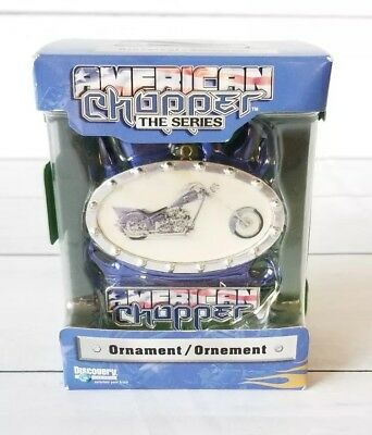 2006 Vintage American Chopper The Series Ornament Christmas Motorcycle NEW