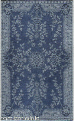 """1:48 Scale Dollhouse Area Rug 0000662 - approximately 1-3/4"""" x 2-7/8"""""""