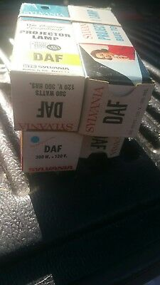 4 boxes DAF Projector Projection Lamp Bulb 300W  120V SYLVANIA