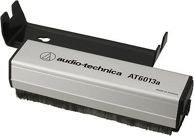 audio-technica AT6013a Dual-Action Anti-Static Record Brush AUTHORIZED-DEALER