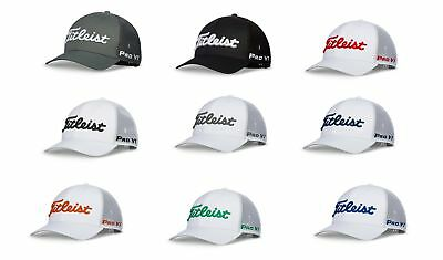491b17246f4 Titleist Tour Snapback Mesh Hat Adjustable Golf Cap 2018 - Pick A Color!