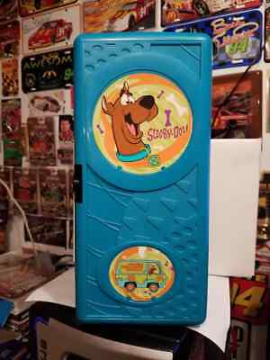 Rare Scooby Doo 24 Count Wall Mount CD Holder 1999 [LOOK]