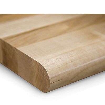 "1-1/2"" Butcher Block Maple Top By John Boos - 60X30"" - Comfort Edge, Lot of 1"