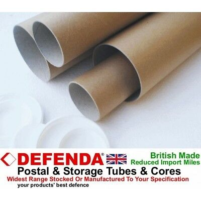 "A4 A3 A2 A1 A0 2"" – 50mm WIDE DIAMETER POSTING POSTAGE CARDBOARD POSTAL TUBES"