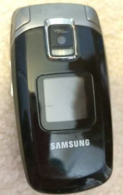 Samsung Flip Phone Black No charger or paperwork GUC Works