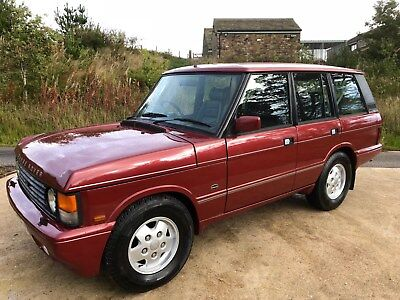 1989 Range Rover Vogue with Overfinch 570i Corvette engine conversion