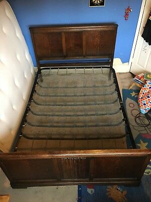 Vintage Crown AY Double Bed circa 1930's