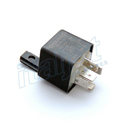 Automotive Italian 12v 30A/40A 5 Pin Relay Scooter Bike Car Van Boat Home x 24