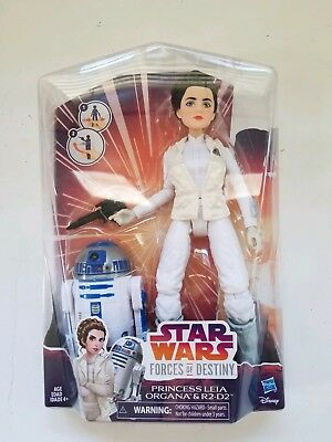 Bnib Star Wars Forces Of Destiny Princess Leia Organa R2-d2 Action Figures Doll Film, Tv & Videospiele