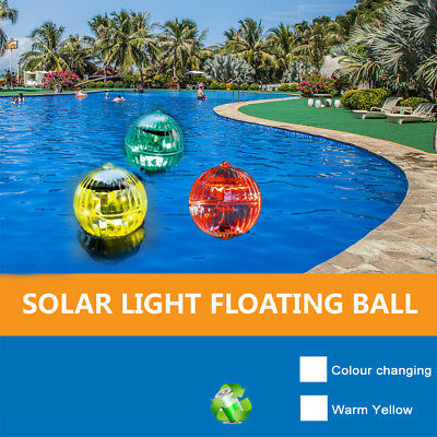 Solar Led Outdoor Floating Lamp Color Changing Pool Light Hanging Ball Light