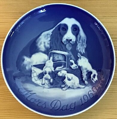 BING & GRONDAHL Denmark fine china 1969 Mothers Day plate~1st in series~NR