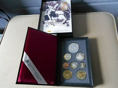 1997 34 Seconds To Eternity Royal Canadian Mint Coin Set