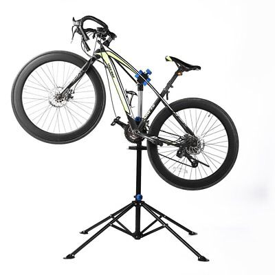 Portable Folded Height Adjustable Bicycle Repair Stand With 360 Degree Clamp @r
