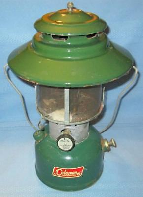 Vintage 1967 Coleman 220F/228F Double Mantle Camping Lantern NICE!