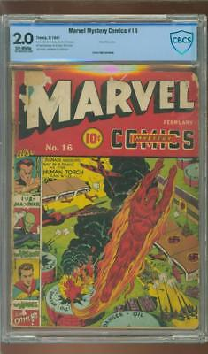 Marvel Mystery #16 [1941] Certified[2.0] Air Attack