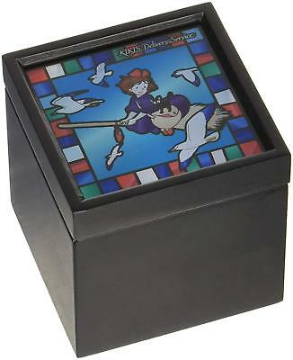 Ghibli Kiki's Delivery Service Music Box Stained glass style BOX JAPAN NEW