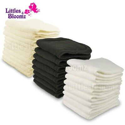 Reusable Washable Inserts Boosters Liners For Real Pocket Cloth Nappy Diaper