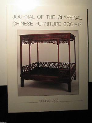 Journal of the Classical Chinese Furniture Society Spring 1992 Collectible