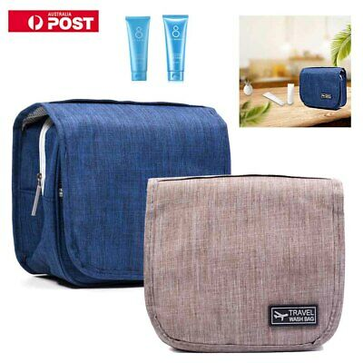 Hanging Travel Toiletry Wash Bag Folding Carry Men Women Cosmetics Organizer Kid
