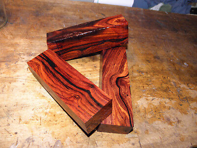 Messergriffblock Holz Cocobolo120x30x40 mm knife scales handle block