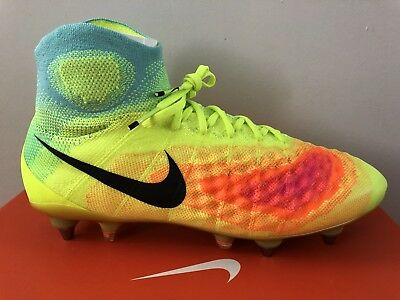 info for 4bfc7 014c3 Nike Magista Obra II SG-PRO 844596-709 Size 8.5 Soccer Cleats Football Boots