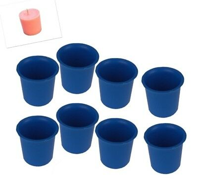 8 x Votive Candle Making Moulds, UK Made, Rigid Plastic, Craft. S7619