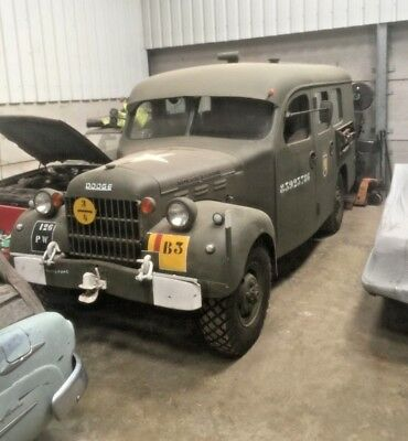 1951 Dodge Power Wagon B3PW - Extremely Rare Coach Built Variant
