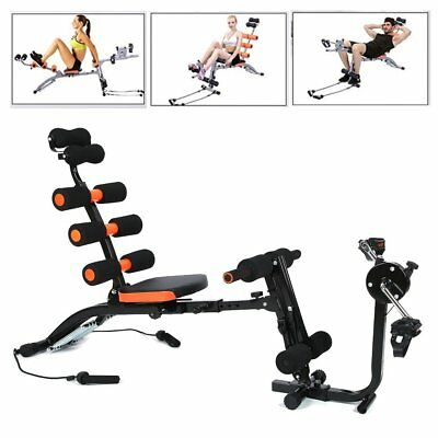 Body Exercise Fitness Core Ab Trainer Workout Gym Machine Twist Crunch Up Bench