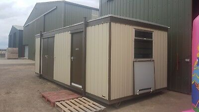 Portable Building Cabin Site Office 24ft x 10ft Budget Office Supplies