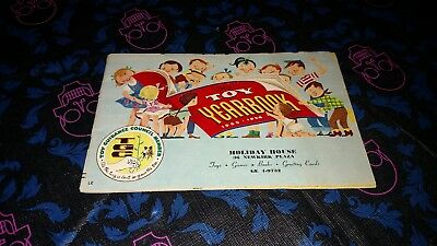 VINTAGE 1955-56 The Toy Yearbook: Holiday House Christmas Catalog