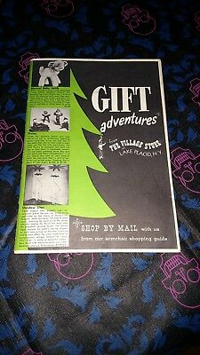 VINTAGE 1951-52 Gift Adventures from The Village Store Lake Placid N.Y. Catalog!