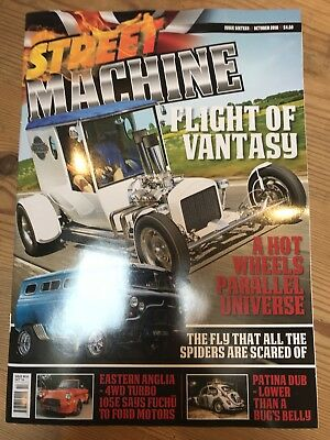 STREET MACHINE UK ISSUE 16 October 2018 Order Your Copy Now