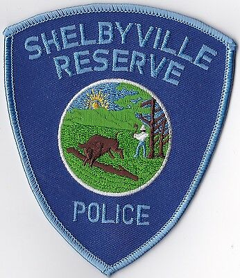 Shelbyville Reserve Police Patch Indiana IN