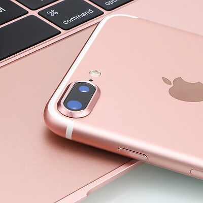 Metal Camera Lens Protective Protector Guard Cover For iphone 7 plus ROSE GOLD