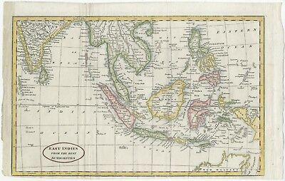 East Indies from the Best Authorities - Brookes (1798)