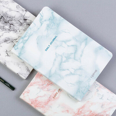 """Texture View"" 1pc Hard Cover Daily Planner Beautiful Notebook Diary Journal"