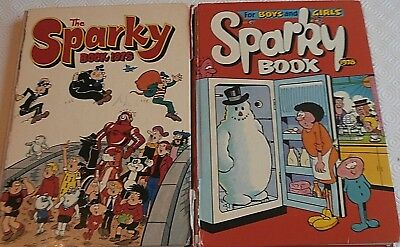 Sparky Books Annuals 1975 & 1978